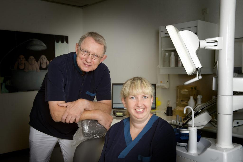 spørge din tandlæge